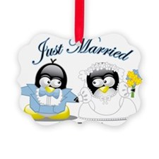 Penguin-Wedding Ornament