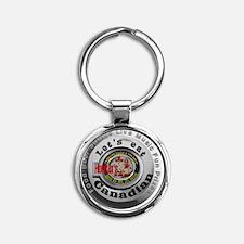 Logo Round Keychain