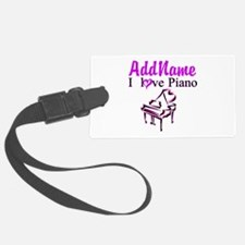 PIANO PLAYER Luggage Tag