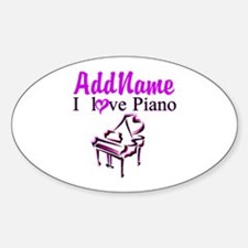 PIANO PLAYER Decal