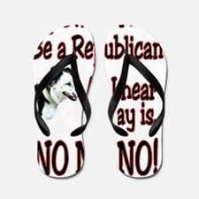 no no no1 Flip Flops