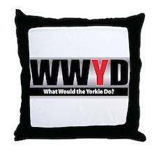 WWYD Throw Pillow