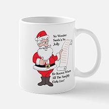 Santa Knows Mugs