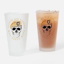 sas_skull_tshirt-p23542595447177638 Drinking Glass