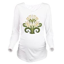 Daffodils Long Sleeve Maternity T-Shirt