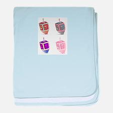 dreidelcard.png baby blanket