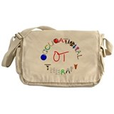 Occupational therapy Canvas Messenger Bags