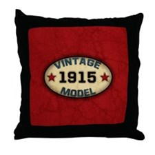 vintage-model-1915_b Throw Pillow