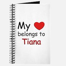 My heart belongs to tiana Journal