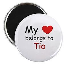 My heart belongs to tia Magnet