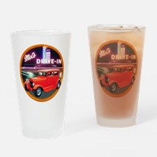 2-HOT ROD Drinking Glass