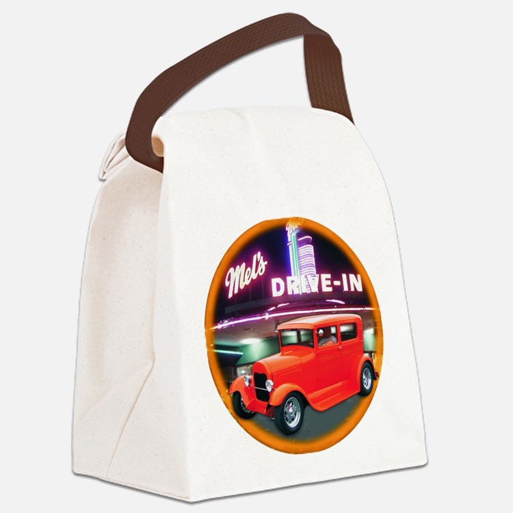 2-HOT ROD Canvas Lunch Bag