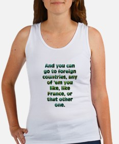 And you can go to... Tank Top