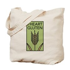 I heart gluten Tote Bag