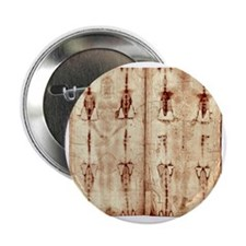 "Shroud of Turin - Full Length Front-B 2.25"" Button"