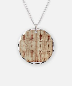Shroud of Turin - Full Lengt Necklace
