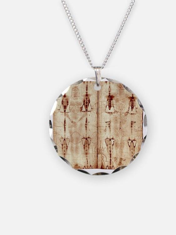Shroud of Turin - Full Lengt Necklace