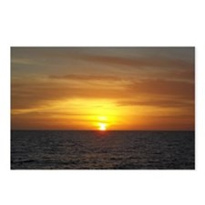 Sunset on the Gulf of Mex Postcards (Package of 8)