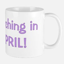 hatchinginapril_purple2 Mug