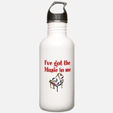 PIANO PLAYER Water Bottle