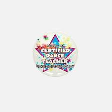 certified dance teacher star Mini Button