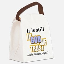 in-god-we-trust Canvas Lunch Bag