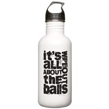 All About Balls Blk Stainless Water Bottle 1.0L