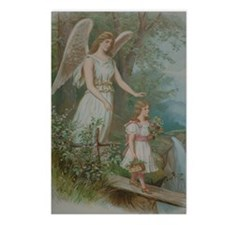 Vintage Guardian Angel Postcards (Package of 8)