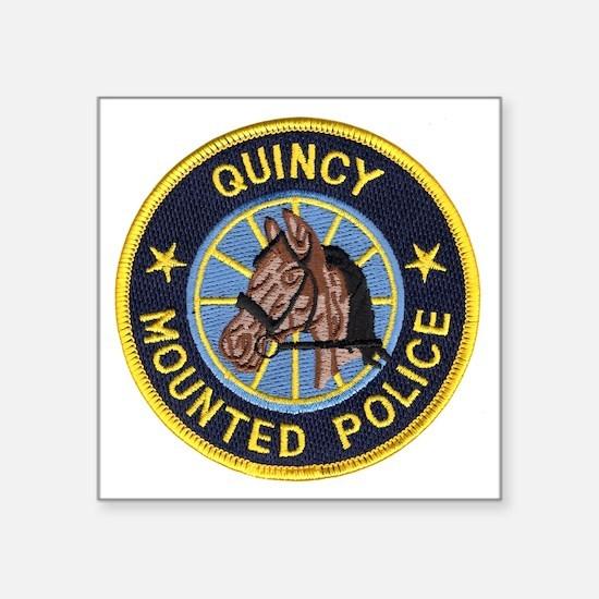 "quincyforzaz Square Sticker 3"" x 3"""