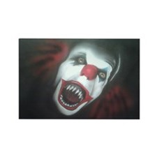 EvilClown Rectangle Magnet
