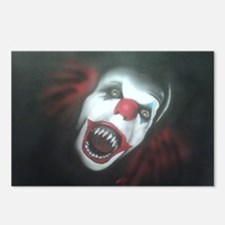 EvilClown Postcards (Package of 8)