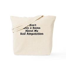 Bad Amputation-01 Tote Bag