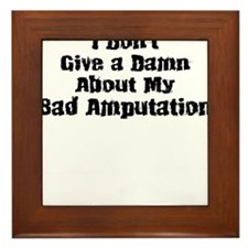 Bad Amputation-01 Framed Tile