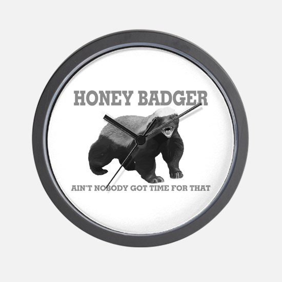 Honey Badger Ain't Nobody Got Time For That Wall C