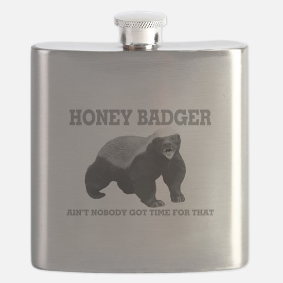 Honey Badger Ain't Nobody Got Time For That Flask