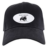 Honey badger Baseball Cap with Patch
