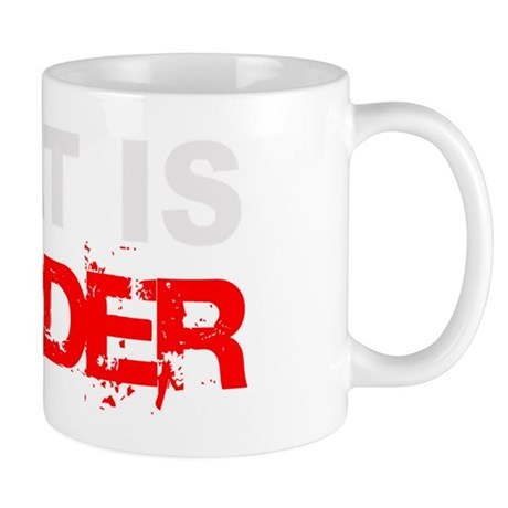 Meat Is Murder trans-3 Mug