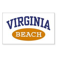 Virginia Beach Rectangle Decal