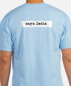 ooh aah India Ash T-Shirt