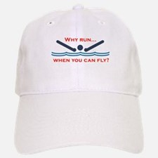 Why run when you can fly? Baseball Baseball Baseball Cap