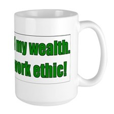 Work Ethic Bumper Sticker Mug