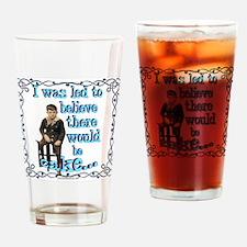 caketshirt Drinking Glass