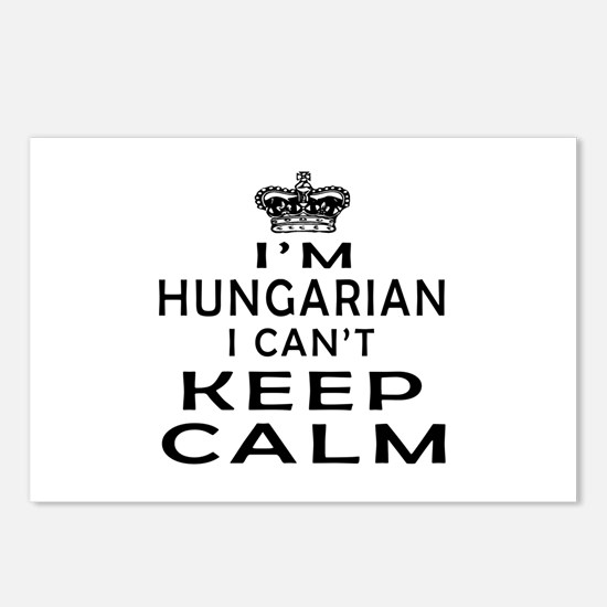 I Am Hungarian I Can Not Keep Calm Postcards (Pack