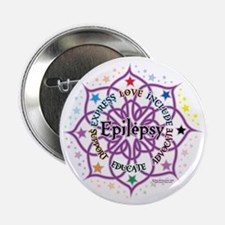 "Epilepsy-Lotus 2.25"" Button"