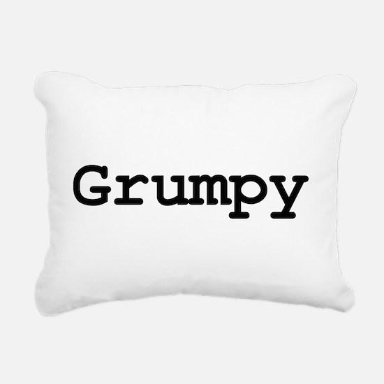 grumpy.png Rectangular Canvas Pillow