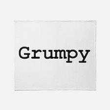 grumpy.png Throw Blanket