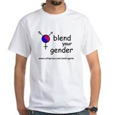 Blend your gender White t-shirt