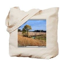 zz-DeadTreesHwy163 -mousepad Tote Bag