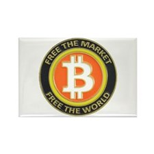 Bitcoin-8 Rectangle Magnet (10 pack)