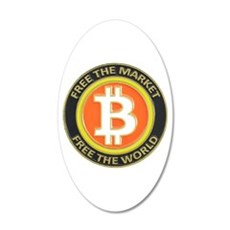 Bitcoin-8 Wall Decal
